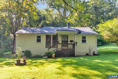 Albemarle County Single Family Home For Sale: 100 James River Pl