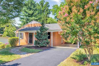 Charlottesville Single Family Home For Sale: 2223 Williamsburg Rd