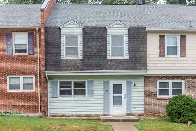 Harrisonburg VA Townhome Sold: $125,000