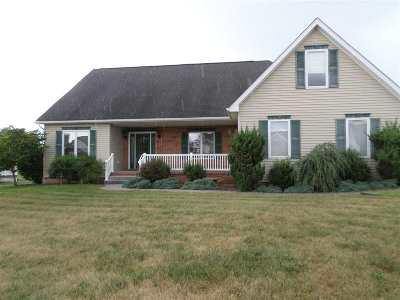 Rockingham County Single Family Home For Sale: 600 Three Leagues Rd