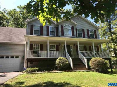 Fluvanna County Single Family Home For Sale: 54 Bridlewood Dr