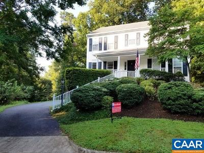 Charlottesville Single Family Home For Sale: 1695 Empress Pl