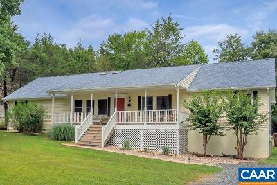 Fluvanna County Single Family Home For Sale: 344 Jefferson Dr