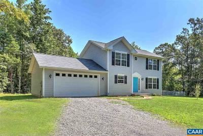 Louisa County Single Family Home For Sale: 205 Jacoby Rd