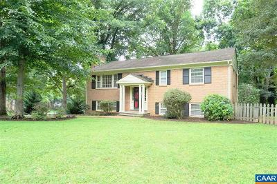 Charlottesville Single Family Home For Sale: 501 Westmoreland Ct