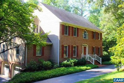 Charlottesville Single Family Home For Sale: 2425 Shady Spring Dr