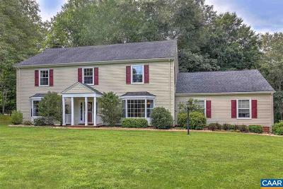 Charlottesville Single Family Home For Sale: 1925 Lonicera Way