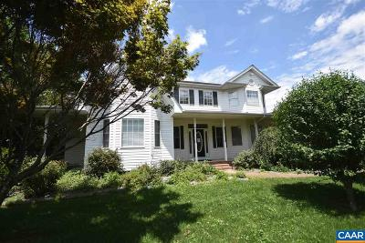 Waynesboro Single Family Home For Sale: 138 New Hope And Crimora Rd