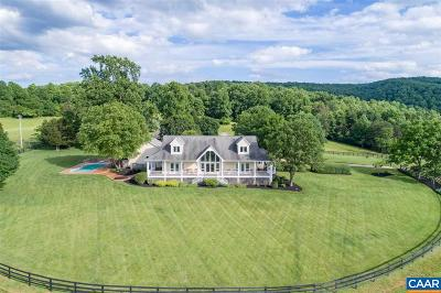 Albemarle County Single Family Home For Sale: 6621 Sam Mundy Rd