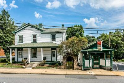 Staunton Single Family Home For Sale: 901 N Augusta St