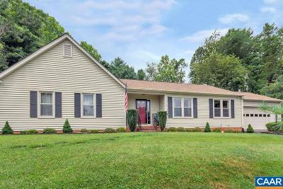 Charlottesville Single Family Home For Sale: 1542 Surry Hill Ct
