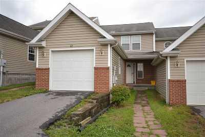 Harrisonburg Townhome For Sale: 227 Emerson Ln