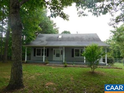 Scottsville Single Family Home For Sale: 152 Gough Town Rd
