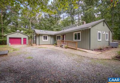 Albemarle County Single Family Home For Sale: 3822 Burnley Station Rd