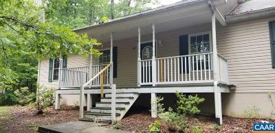Fluvanna County Single Family Home For Sale: 613 Jefferson Dr