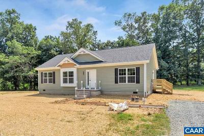 Gordonsville VA Single Family Home For Sale: $215,900