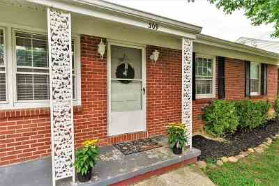 Staunton Single Family Home For Sale: 309 Hoover St