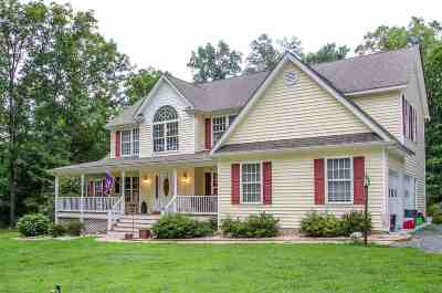Scottsville Single Family Home For Sale: 1639 Kidds Dairy Rd