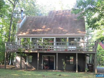 Fluvanna County Single Family Home For Sale: 43 Oak Grove