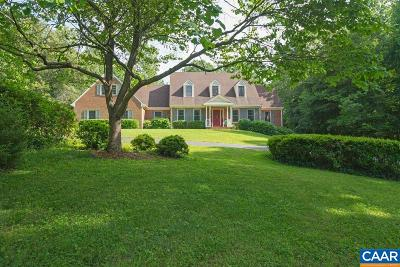 Charlottesville Single Family Home For Sale: 155 Ivy Ridge Rd