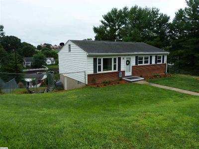 Staunton VA Single Family Home For Sale: $139,900