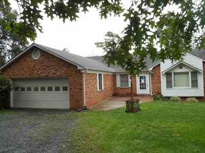 Single Family Home For Sale: 987 Leaksville Rd