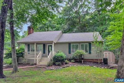 Fluvanna County Single Family Home For Sale: 52 Forest Dr