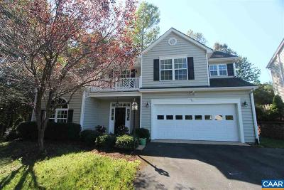 Charlottesville Single Family Home For Sale: 467 Rolling Valley Ct