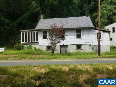 Fluvanna County Single Family Home For Sale: 423 Bremo Rd