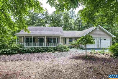 Fluvanna County Single Family Home For Sale: 19 Sand Trap Ter