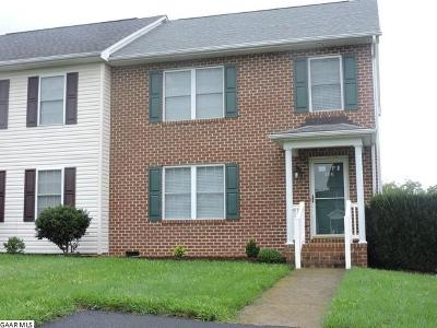 Harrisonburg Townhome For Sale: 506 Pointe Dr