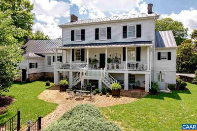 Albemarle County Single Family Home For Sale: 2010 Milton Rd