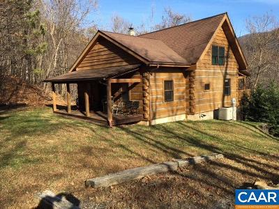 Nelson County Single Family Home For Sale: 1910 Campbells Mountain Rd