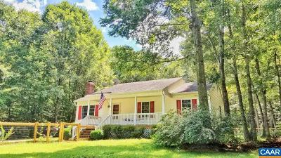 Louisa County Single Family Home For Sale: 1195 Belsches Rd
