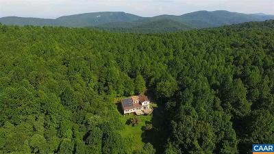Albemarle County Single Family Home For Sale: 2145 Calf Mountain Rd