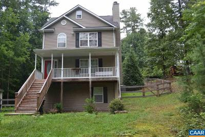 Fluvanna County Single Family Home For Sale: 3 Bernardsburg Rd
