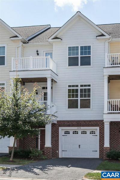 Albemarle County Townhome For Sale: 2298 Whittington Dr
