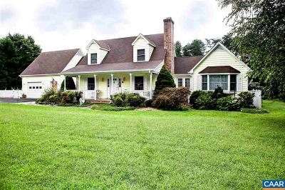Fluvanna County Single Family Home For Sale: 5570 Union Mills Rd