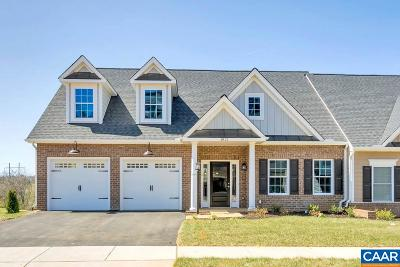 Albemarle County Townhome For Sale: 164 Terrace Ln