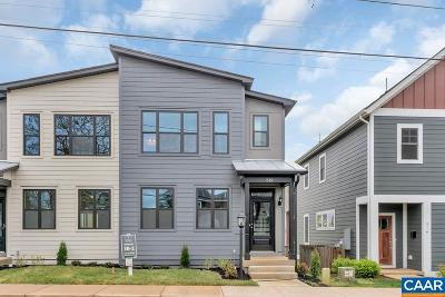Charlottesville Townhome For Sale: 10a Midland St