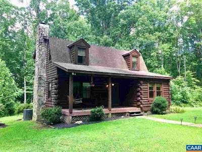 Buckingham County Single Family Home For Sale: 2621 Cartersville Rd