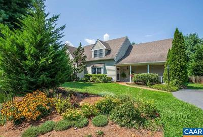 Albemarle County Townhome For Sale: 1229 Clover Ridge Pl