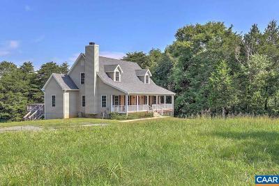 Scottsville Single Family Home For Sale: 7252 Jefferson Mill Rd