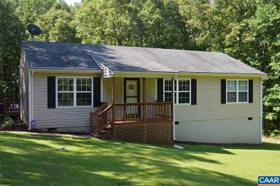 Louisa County Single Family Home For Sale: 2327 Davis Hwy