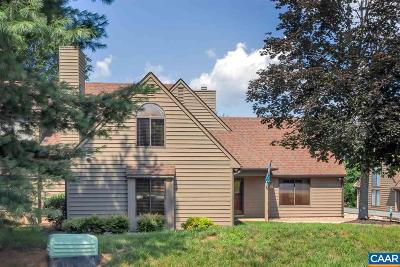 Albemarle County Townhome For Sale: 1052 Highlands Dr