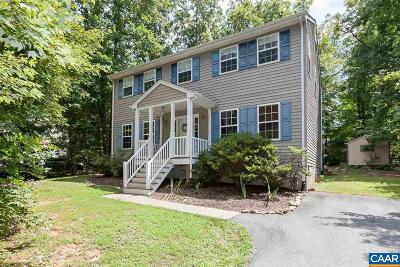 Fluvanna County Single Family Home For Sale: 29 Choctaw Pl