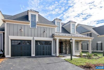 Albemarle County Townhome For Sale: 44 Out Of Bounds Ct