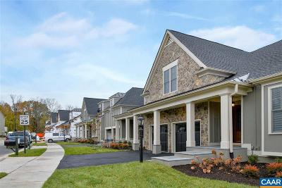 Albemarle County Townhome For Sale: 43 Out Of Bounds Ct