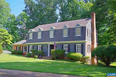 Charlottesville Single Family Home For Sale: 1500 Grove Rd