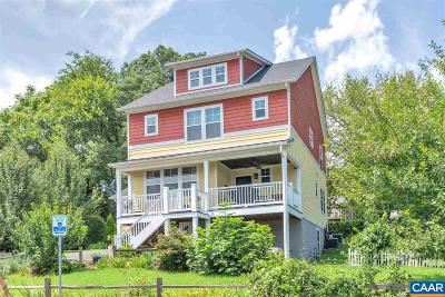 Charlottesville Single Family Home For Sale: 807 Moore Ave